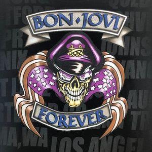 Bon Jovi Forever 2008 Concert Babydoll Junior Tee